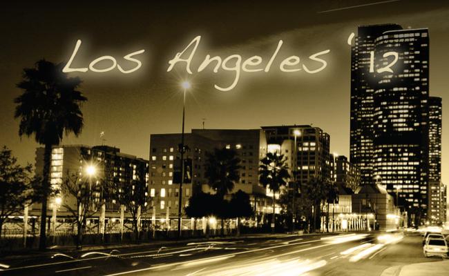 Los Angeles '12 Tracklist Header