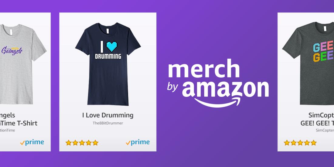Twitch-Merch Amazon