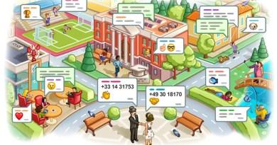 Telegram Ortsbezogene Chats