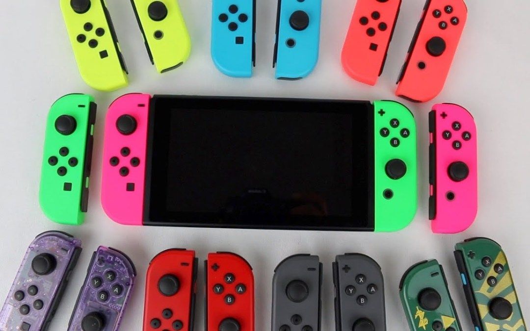 Nintendo Switch: Neue Farbkombinationen für die Joy-Cons kommen