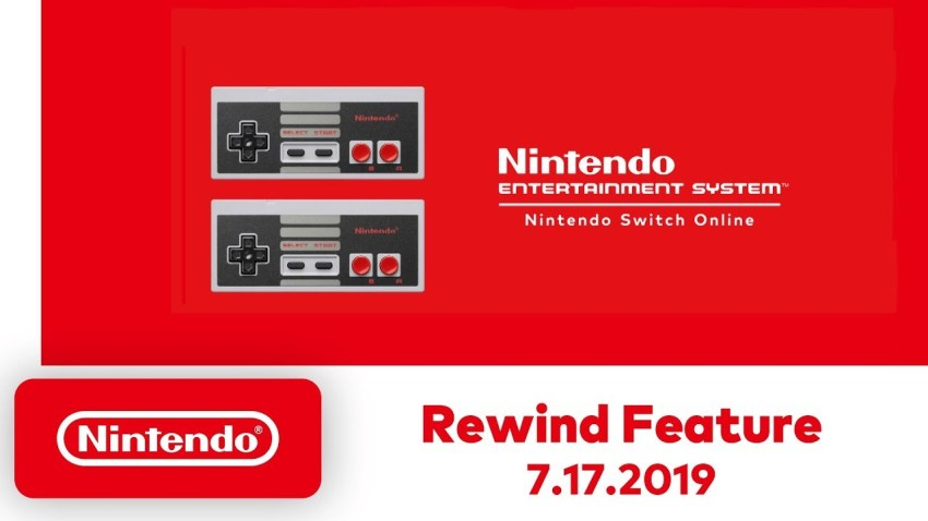 Nintendo Switch Rewind-Feature