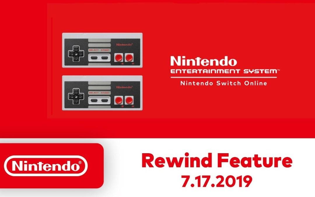 """Nintendo Switch bekommt """"Rewind""""-Feature für NES-Spiele"""