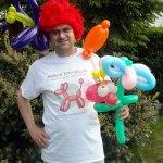 Ballonkünstler Markus Toni Vallen