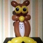 Ballon-Eule balloon-owl