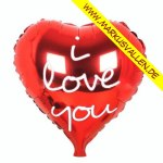 Folienballon i-love-you-herz-pure-red
