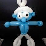 ballon-schlumpf balloon-smurf