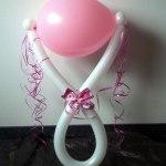 Ballon-Rassel rosa Baby-Girl