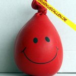 Ballongewicht Knuddel rot
