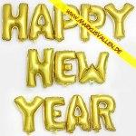 Folienballons Happy-New-Year