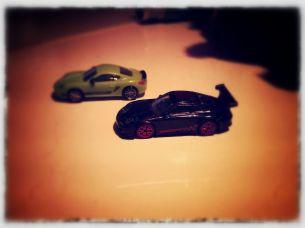 Porsche auf der Kinder Überraschung