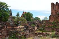 Ayutthaya Wat Phra Si Sanphet Tempel