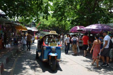 Bangkok Chatuchak Weekend Market TukTuk