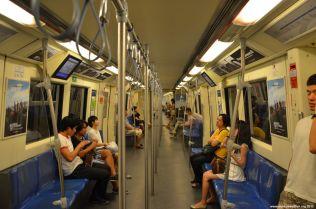 Bangkok Metro Train