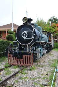 Hua Hin Railway Station alte Dampflok