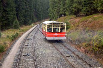 Personenwagen der Standseilbahn