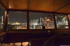 Nacht auf der Brücke des Neeltje