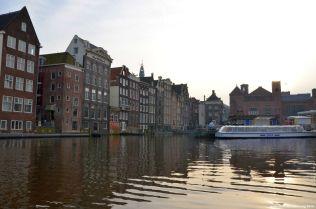Die tanzenden Häuser von Amsterdam