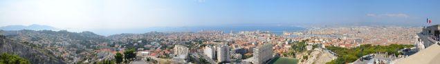 Panorama von Marseille
