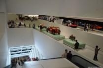 Überblick im Porsche Museum