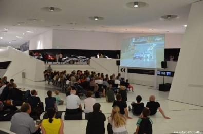 Le Mans 2014 Start im Porsche Museum