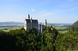 Aussicht von der Marienbrücke auf Schloss Neuschwanstein
