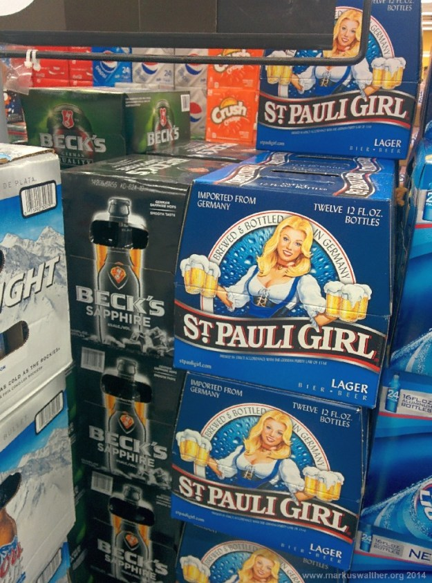 Vermeintlich deutsche Biere bei Walmart