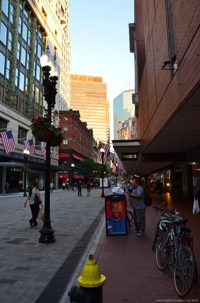 Boston Shopping District