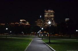 Boston Common bei Nacht
