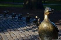 Make Way for Ducklings im Boston Public Garden