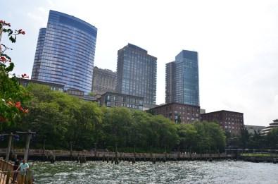 Blick vom Esplanade New York