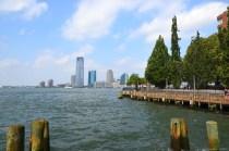 Blick auf Jersey City