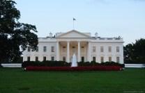 The White House am Abend, Washington DC