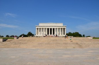Das Lincoln Memorial in Washington DC