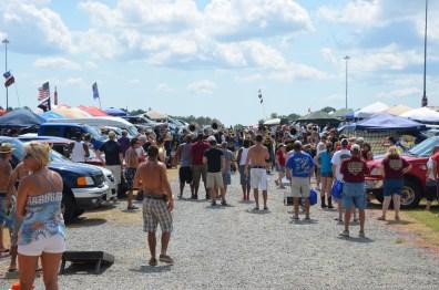 Tailgating Event beim NASCAR Sprint Cup auf dem RIR