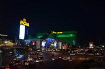 Blick auf das MGM Grand in Las Vegas