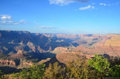 Blick über den Grand Canyon am Nachmittag