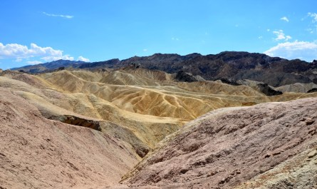 Zabriskie Point am Mittag