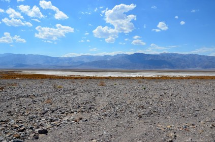 Salt Flats von Death Valley