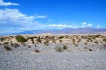 Mesquite Flat Sand Dünen im Death Valley Nationalpark