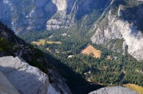 Yosemite Nationalpark Talblick vom Glacier Point