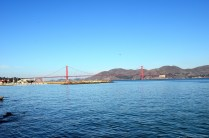 Golden Gate Bridge am Morgen