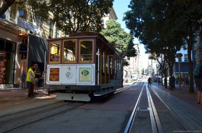 San Francisco Powell Cable Car Station