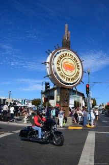 San Francisco Fisherman's Warf Sign