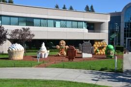 Android Figuren am Google Building 44, Mountain View, CA