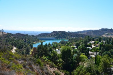 Hollywood Reservoir und Los Angeles