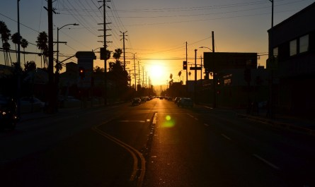 Sunset Boulevard Los Angeles