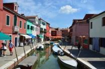 Fondamenta San Mauro, Burano, Venedig, Italien