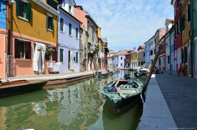 Fondamenta Pontinello Destra, Burano, Venedig, Italien