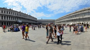 Piazza San Marco, Venedig, Italien