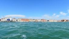 Panorama an der Santa Maria della Pietà, Venedig, Italien